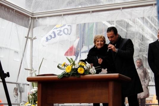 Baptême du Costa Diadema à Marghera