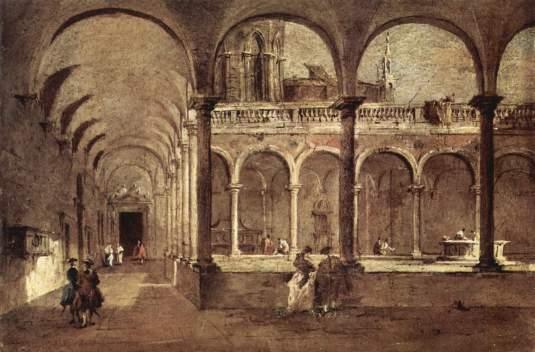 La Fiera della Sensa in Piazza San Marco Francesco Guardi