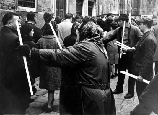Madonna della Salute 1966. Photo de Candido Spinazzi