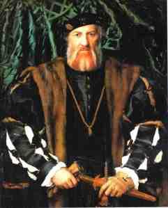 Portrait de Charles de Solier, Sieur de Morette,  peint par  Hans Holbein le jeune Le Raphaël du Nord