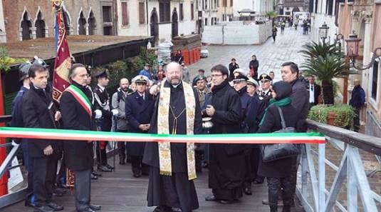 Inaugurato il Ponte Votivo a Venezia