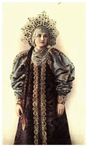 "Varvara Chabelskaya dans le livre ""Peasant art in Russia"""
