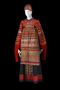 Le costume populaire russe