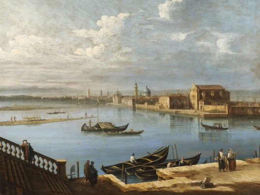 Pietro Bellotti, L'Isola di San Cristoforo e San Michele dalle Fondamenta Nuove