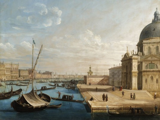 Pietro Bellotti, Il Bacino di San Marco con la basilica della Salute