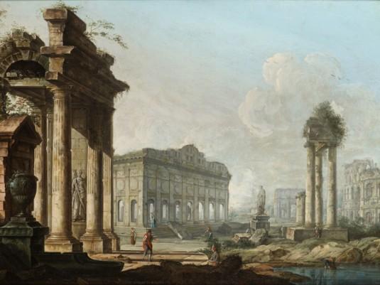 Pietro Bellotti, Capriccio architettonico