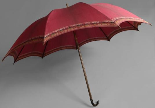 Rare parapluie, début du XIXème siècle