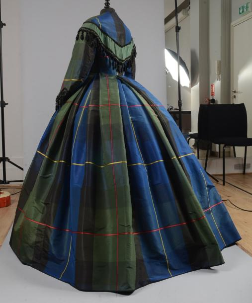 Robe d'après-midi, vers 1860