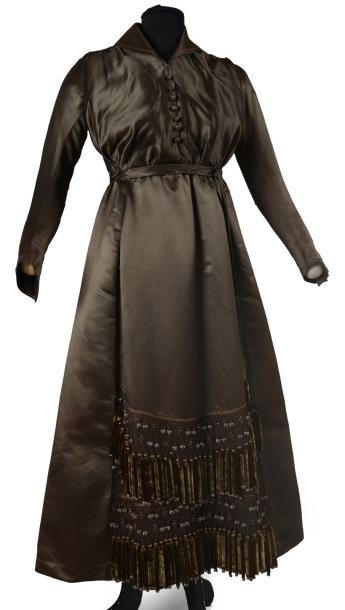 Robe de dîner, vers 1918-1920