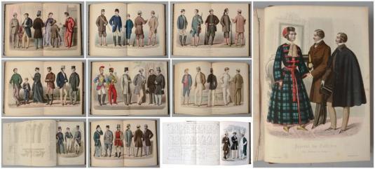 Les Modes Françaises, Journal des Tailleurs