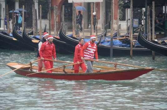 Baby Natale pour la regata a la valesana 2013