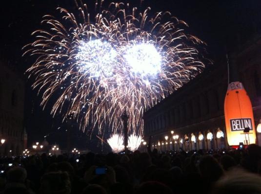 Vivez le réveillon du Nouvel An 2014 en direct de Venise