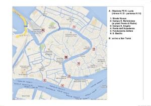Carte de la manifestation