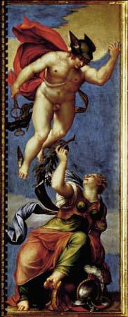 Giambattista Ponchino : Mercurio e Minerva