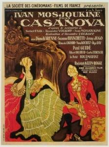 Casanova 1927 - affiche
