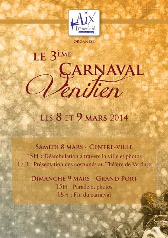 Carnaval vénitien d'Aix-les-Bains 2014
