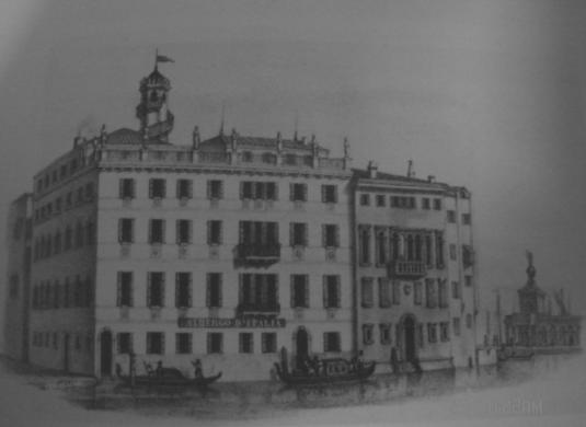 Albergo d'Italia a San Moisè, calle Barozzi, presso la piazza San Marco
