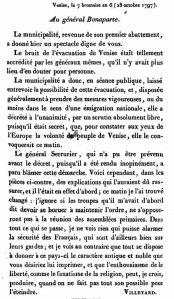 Lettre de Villetard