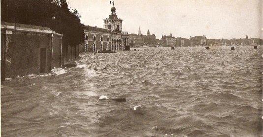Acqua Alta historique du 4 novembre 1966