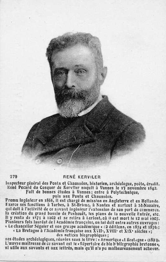 René Mathurin Marie Pocard du Cosquer de Kerviler