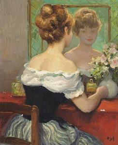 Claudine dans le miroir