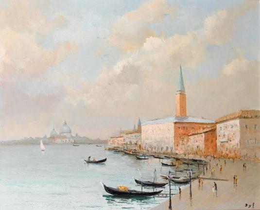 La Palais des Doges à Venise