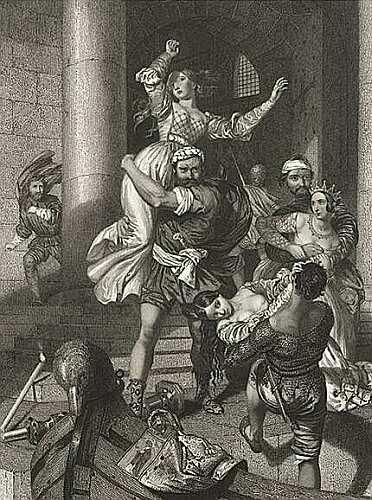 L'enlèvement des jeunes Marie