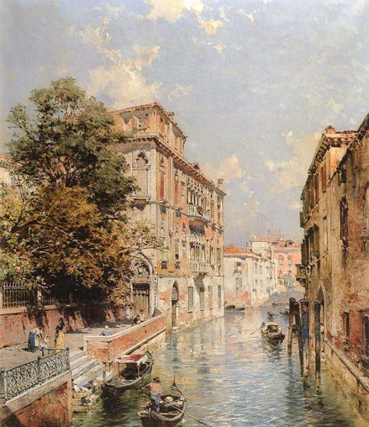 Vue de Venise, Rio S. Marina