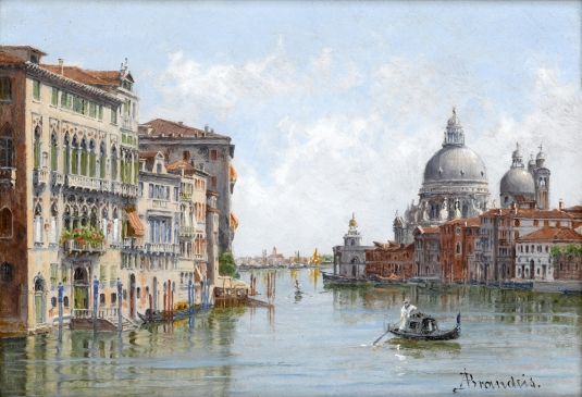 The Dogana and San Giorgio, Venice