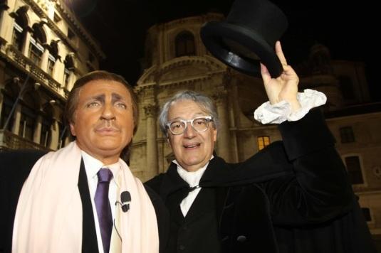 Davide Rampello et Dario Ballantini