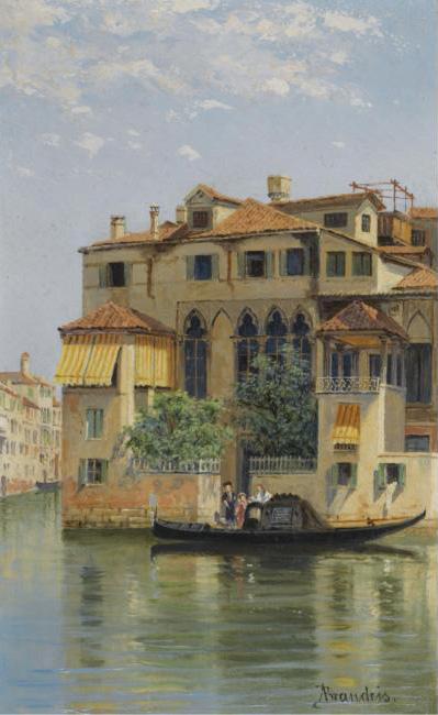 """Palazzo Falier, Venice (650х650) - Antonietta Brandeis"""