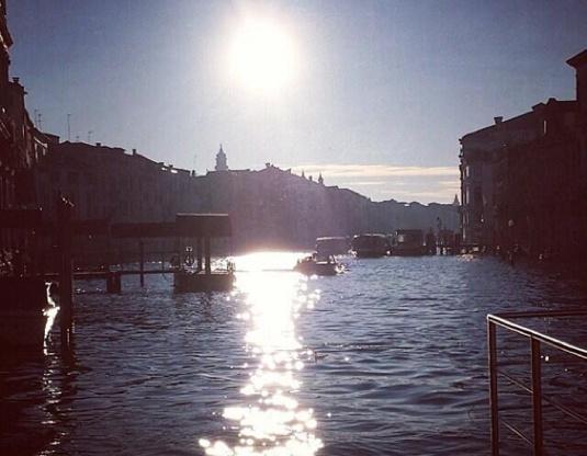 Venise au soleil