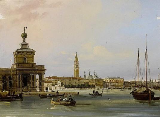 L'entrée du Grand Canal