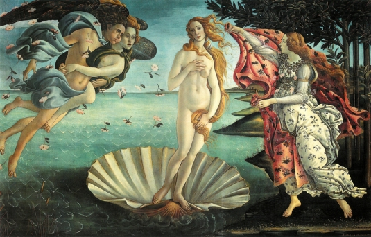 Nascita di Venere par Botticelli