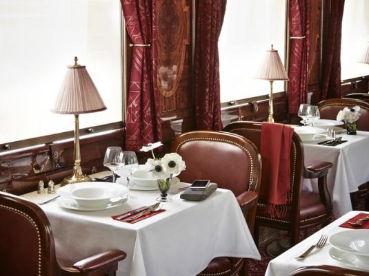 Voiture restaurant Anatolie de l'Orient-Express