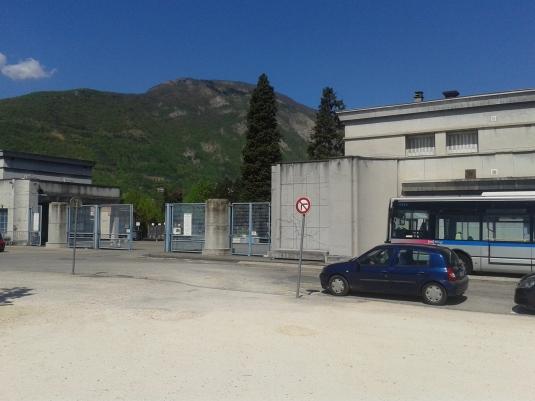 Entrée du Cimetière de Grenoble
