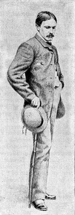 William Dean Howells à 28 ans, après son retour de Venise