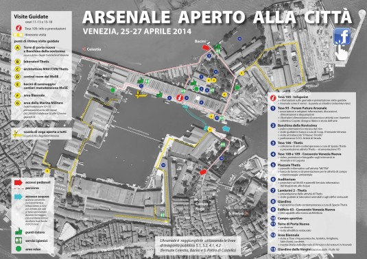 Arsenale 2014 plan