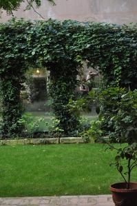 Le jardin du palazzo Falier Canossa