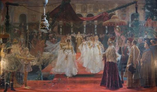 Le triomphe de la dogaresse Maria Foscari