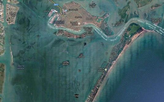 Poveglia - Carte lagune