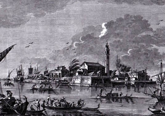 poveglia-tironi-sandiL'île de Poveglia dans une gravure de Tironi-Sandi