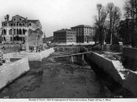 La construction du Rio Novo