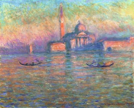 San Giorgio Maggiore - Claude Monet