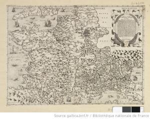 / Paulus Forlani Veronensis 1566 Cartes Informations détaillées - Source Gallica
