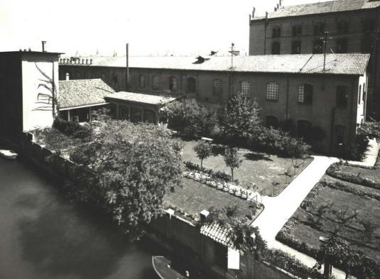 Le jardin au début des années 1920 Photo Ets Fortuny