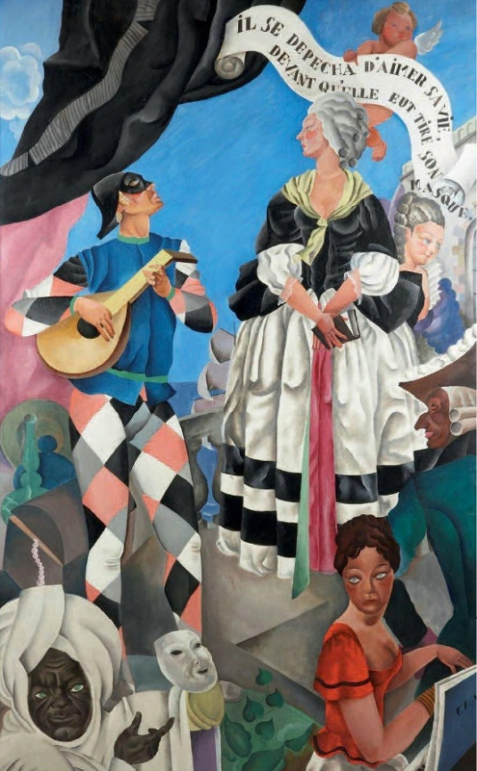 Carnaval, c. 1928 - Raymond Bret Koch (1902-1996)
