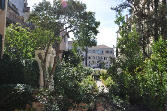 Le jardin du Malipiero Barnabo