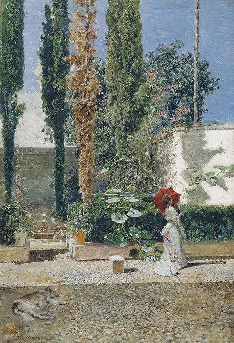 Raimundo de Madrazo y Garreta (1841–1920) - Jardí de la casa de Fortuny