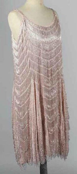 Robe «Charleston» perlée